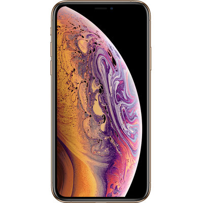 Смартфон Apple iPhone XS 64 ГБ золотистый