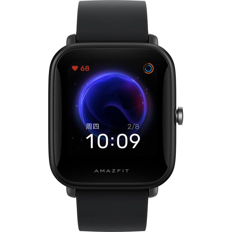 Смарт-часы Xiaomi Amazfit Bip U черный с черным ремешком