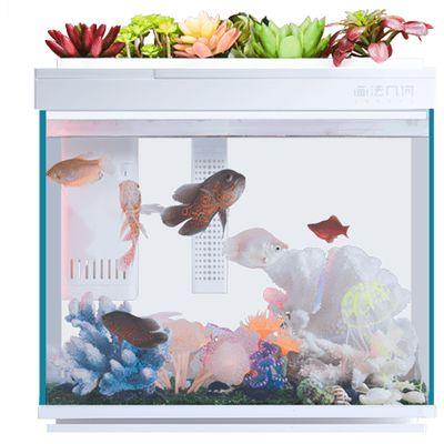 Умный аквариум Xiaomi AI Smart Modular Fish Tank Amphibious Edition 30L HF-JHYG006