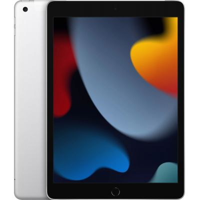 "10.2"" Планшет Apple iPad 2021 256 ГБ Wi-Fi + Cellular серебристый"