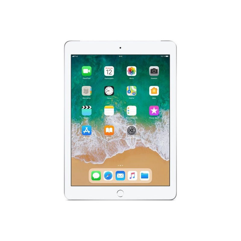 "9.7"" Планшет Apple iPad 2018 32 ГБ Wi-Fi серебристый"