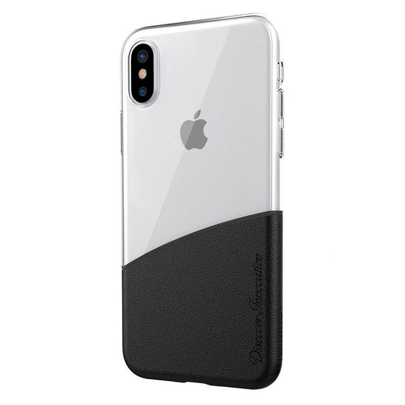 Чехол-накладка Nillkin Half Case Black для Apple iPhone X