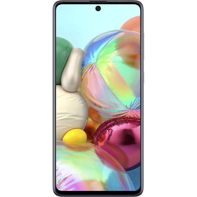Смартфон Samsung Galaxy A71 6/128 ГБ серебристый