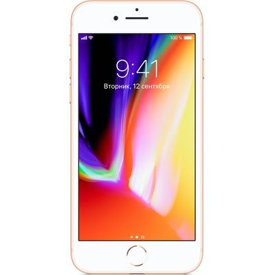 Смартфон Apple iPhone 8 128 ГБ золотистый