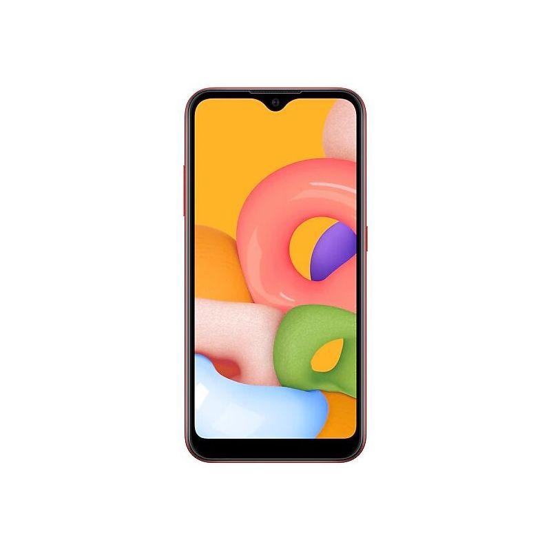 Смартфон Samsung Galaxy M01 3/32 ГБ красный