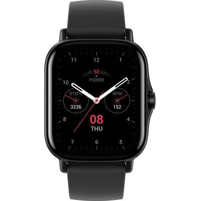 Смарт-часы Xiaomi Amazfit GTS 2 черный с черным ремешком