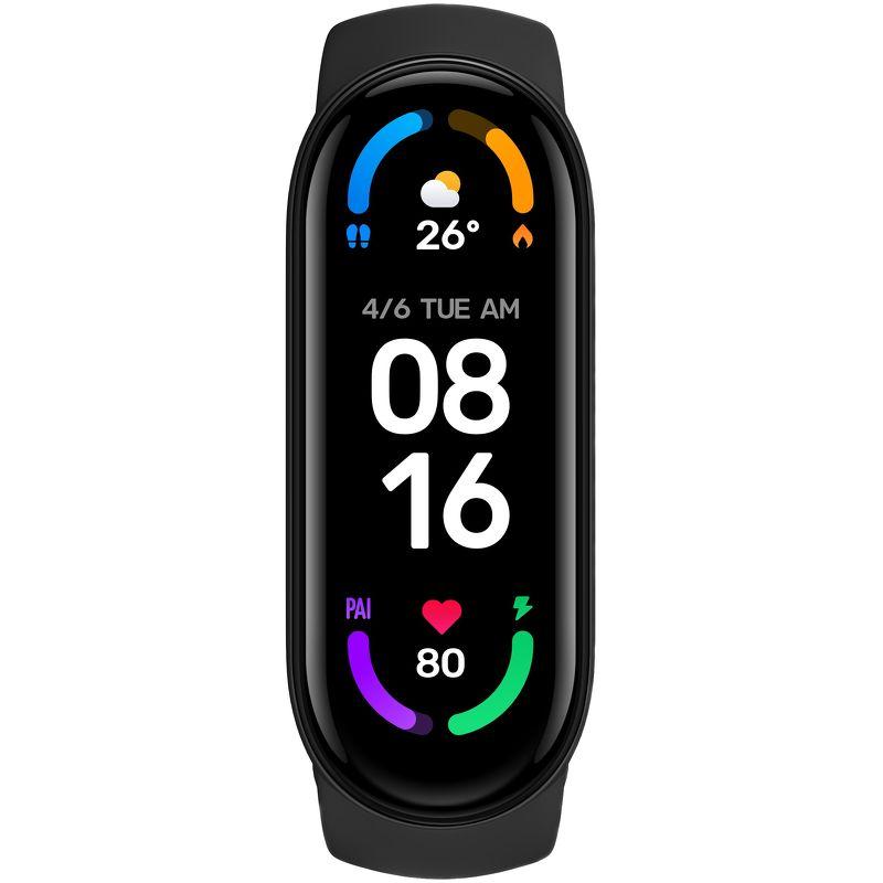 Фитнес-браслет Xiaomi Mi Smart Band 6 черный