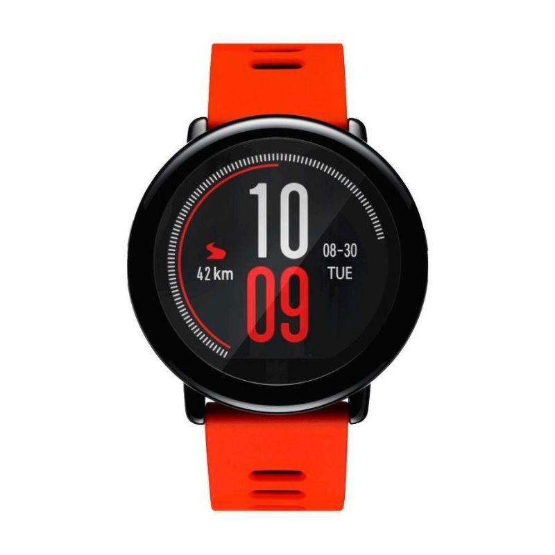 Смарт-часы Xiaomi Amazfit Pace черный с красным ремешком