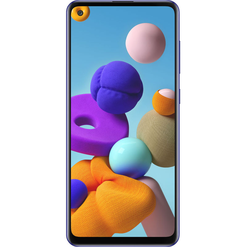 Смартфон Samsung Galaxy A21s 3/32 ГБ синий