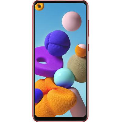 Смартфон Samsung Galaxy A21s 4/64 ГБ красный