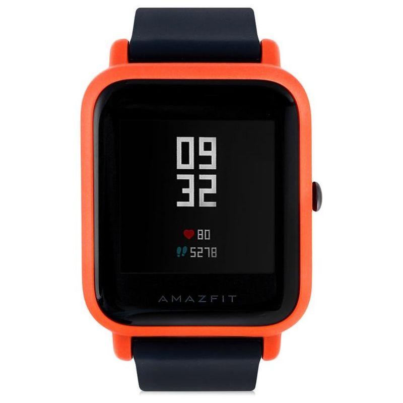 Смарт-часы Xiaomi Amazfit Bip красный с черным ремешком