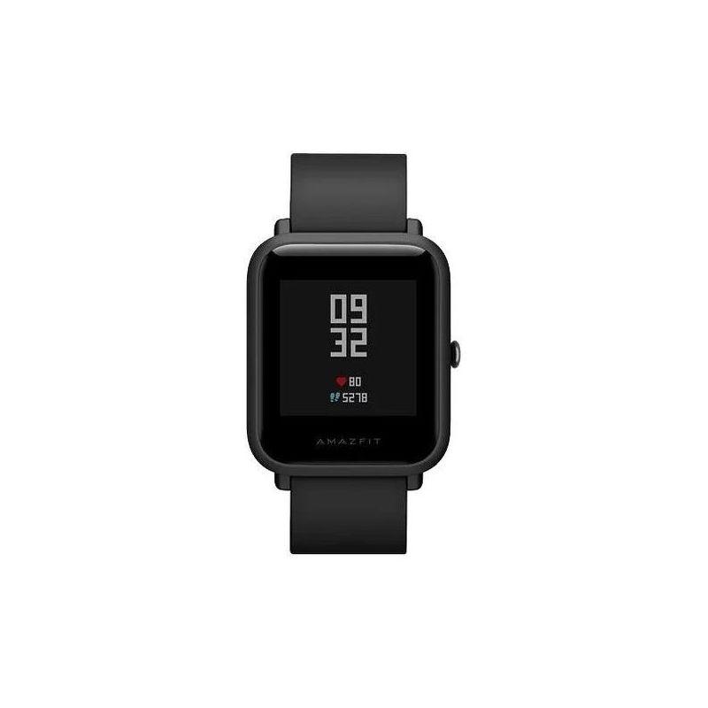 Смарт-часы Xiaomi Amazfit Bip черный с черным ремешком