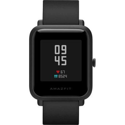 Смарт-часы Xiaomi Amazfit Bip S черный с черным ремешком