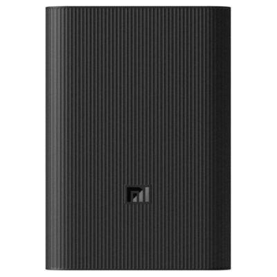 Портативный аккумулятор Xiaomi Mi Power Bank 3 Ultra Compact 10000 mAh черный