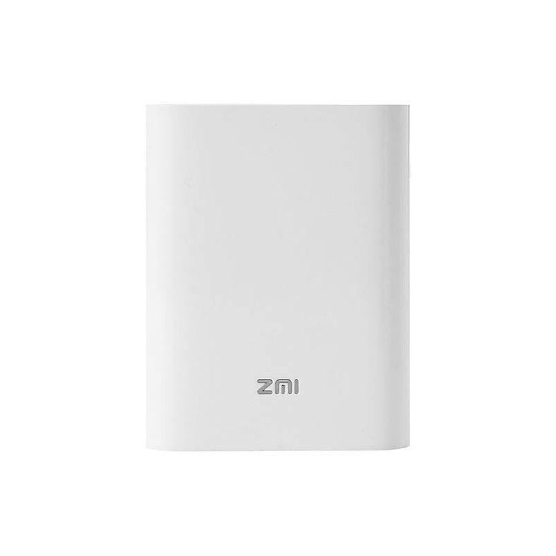 Портативный аккумулятор + роутер Xiaomi ZMI Power Bank 7800 mAh белый